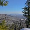 View east to Pleasant Mountain (Shawnee Peak).