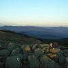 View northeast to Mount Washington.