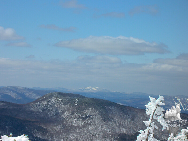 View southwest to Mount Cardigan.