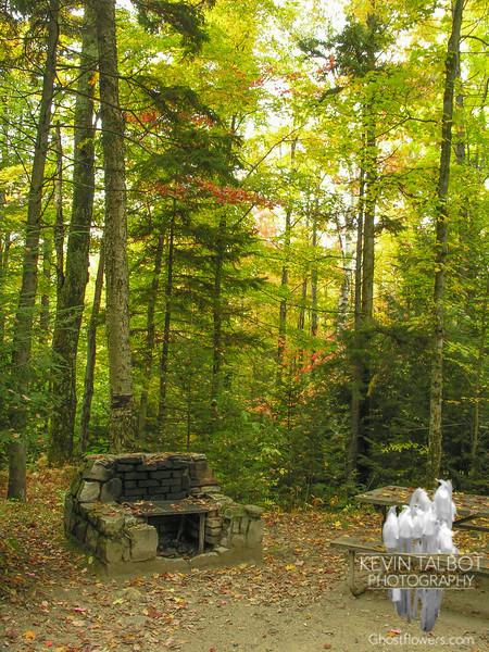 Autumn campsite.