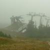 Ski-lift on Lincoln Peak. Great views!