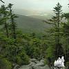 Descending from Mount Abraham.