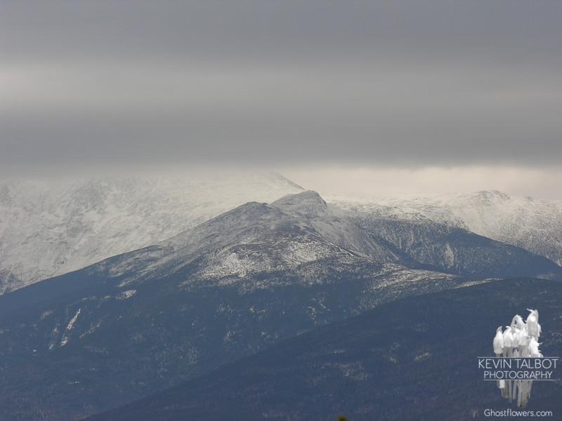 Mount Monroe as seen from Mount Field.