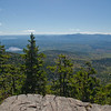 Chocorua Lake left and Ossipee Range right horizon.
