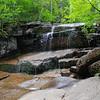 Champney Falls trickle.
