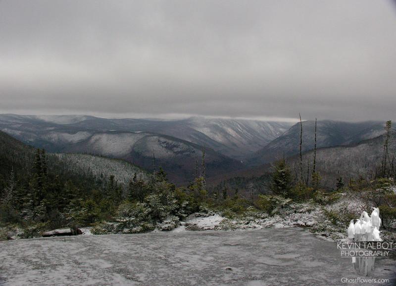 View northwest towards Crawford Notch.