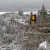 Jude in winter wonderland.