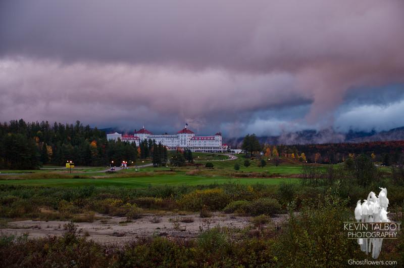 Bretton Woods for overcast sunset.