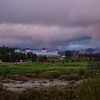 Bretton Woods for overcast sunset.