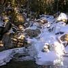 Frozen Gibbs Falls horizontal.