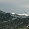 Beyond the ridge to Mount Monroe.