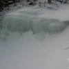 Frozen waterfall on the Edmands Path.
