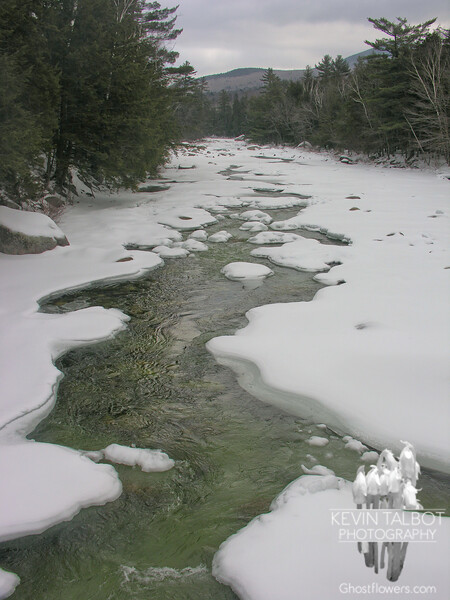 Starting out. The Pemigewasset River.