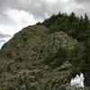 The summit of Mount Flume.