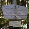 Most of the hike is in this wilderness area.