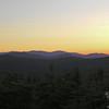Alpenglow on Mount Washington.