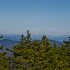 Zoom North to Franconia Ridge.