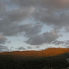 After hiking and some supper, we drove up through Smuggler's Notch for the sunset.