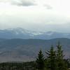 View south through Crawford Notch to Mount Chocorua.