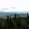 L to R- Mount Clay, Mount Washington, Mount Monroe and Mount Franklin.