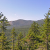 View south to Eastman Mountain (L) and South Baldface.