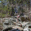 Steep and rocky on the Spellman Trail.
