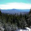 View south to Mount Cushman.