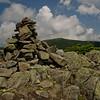 Summit cairn on South Peak.