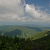 Northwesterly views from South Peak.