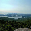 The Rattlesnake Hills and Squam Lake.
