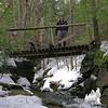 Short bridge over tributary.