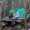 Tenting at the Imp Campsite.