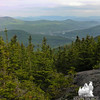 View to Gorham from the ledges above the Imp Shelter.