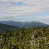 The Northern Presidentials as seen from the summit of Mount Moriah.