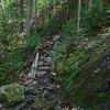 A re-route below the slick falls.