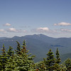 Zoom of Franconia Ridge and Pemi Wilderness...