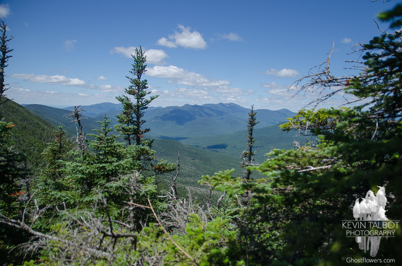 Franconia Ridge from outlook between mtns.