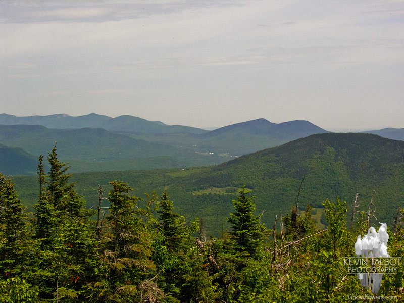 View northeast over Iron Mountain to the Doubleheads.