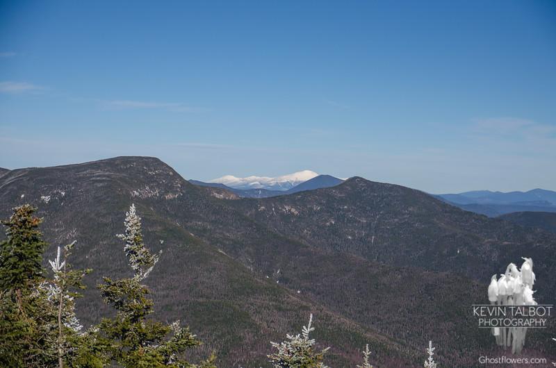 Mounts Jefferson, Clay & Washington beyond Mount Osceola & East Osceola...