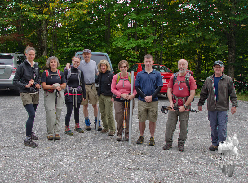 A sampling of those who were to join us on the summit.
