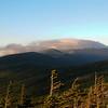 """The summit of Mount Washington is """"encapsulated""""."""