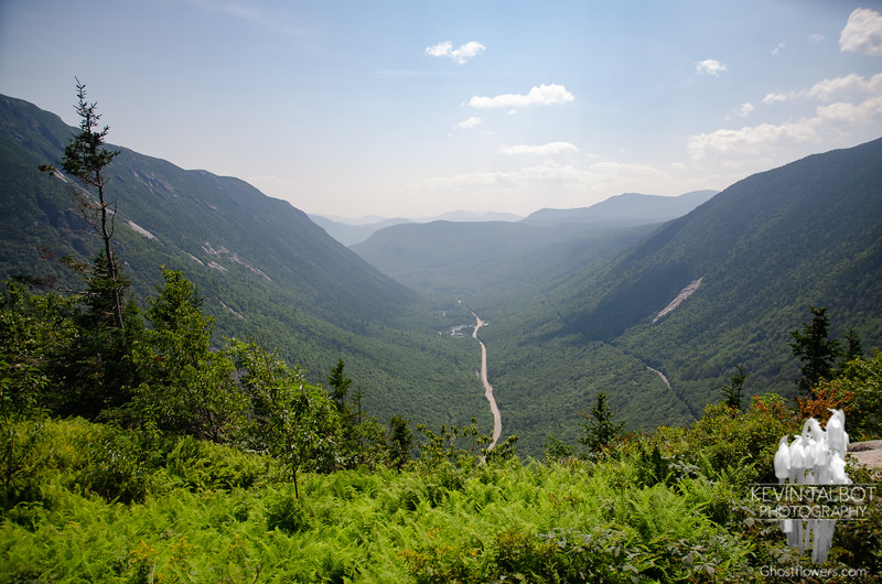 First view south into Crawford Notch...