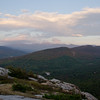 Eastern view at sunset from Middle Sugarloaf 1.