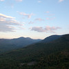 Eastern view at sunset from Middle Sugarloaf 2.