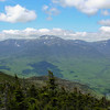 L to R Boott Spur, Mount Washington, Mount Clay and Mount Jefferson.