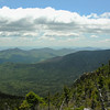View southeast from North Carter. L to R The Baldfaces, Eastman Mountain, Round Mountain and Kearsarge North (Pequawket).