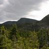 Mount Lethe and North Carter from ledges above Imp Shelter.