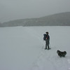On Lonesome Lake.