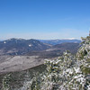 The Osceolas and Franconia Ridge.