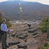 Jude and Emma on Bald Peak again.